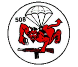 Logo 508th Parachute Infantry Regiment.